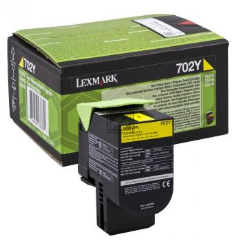 Lexmark Toner-Kit Return gelb HC (70C2XY0)