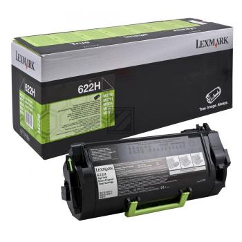 Lexmark Toner-Kit Return Program schwarz HC (62D2H00, 622H)