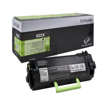 Lexmark Toner-Kit Return Program schwarz HC plus (62D2X00, 622X)