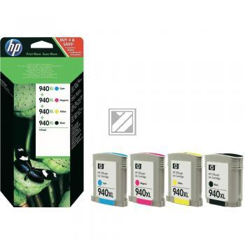 HP Tintenpatrone gelb cyan magenta schwarz (C2N93AE, 4 x 940XL)