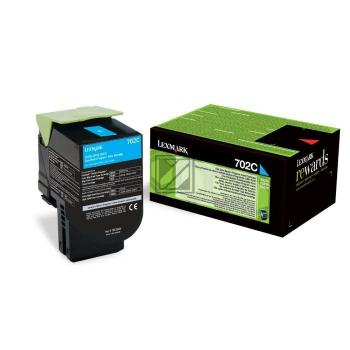 Lexmark Toner-Kit Return cyan (70C20C0, 702C)