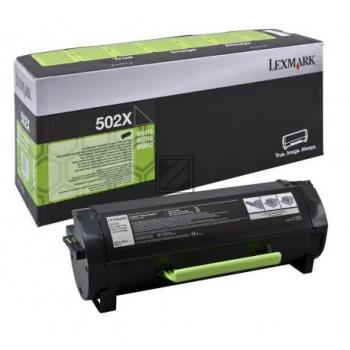 Lexmark Toner-Kit Return schwarz HC plus (50F2X00, 502X)