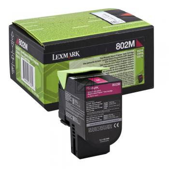 Lexmark Toner-Kit Return magenta (80C20M0, 802M)
