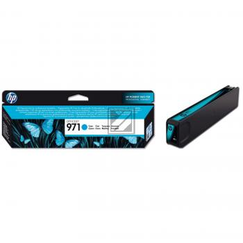 HP Tintenpatrone cyan (CN622AE, 971)