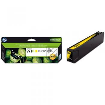 HP Tintenpatrone gelb HC (CN628AE, 971XL)
