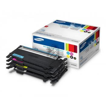 Samsung Toner-Kit gelb cyan magenta schwarz (SU375A, P406C)