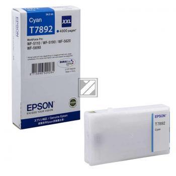Epson Tintenpatrone cyan HC plus (C13T78924010, T7892)