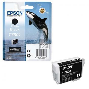 Epson Tintenpatrone photo schwarz (C13T76014010, T7601)