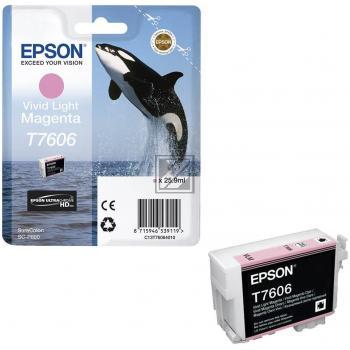 Epson Tintenpatrone magenta light (C13T76064010, T7606)