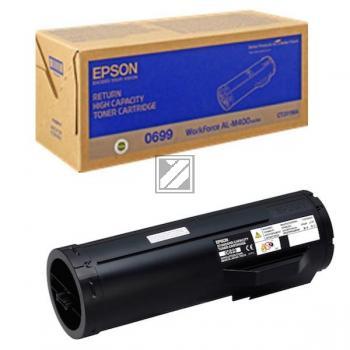 Epson Toner-Kit Return schwarz HC (C13S050699, 0699)