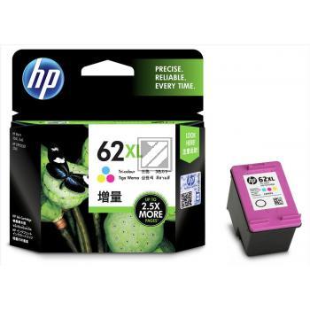 HP Tintendruckkopf cyan/gelb/magenta HC (C2P07AE#UUS, 62XL)
