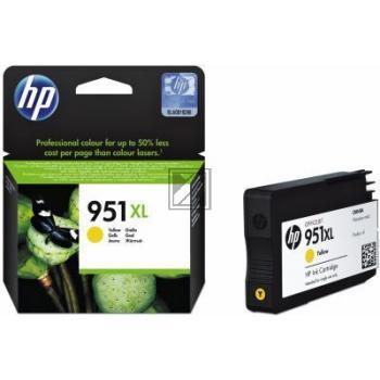 HP Tintenpatrone gelb HC (CN048AE#BGX, 951XL)