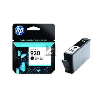 HP Tintenpatrone schwarz (CD971AE, 920)