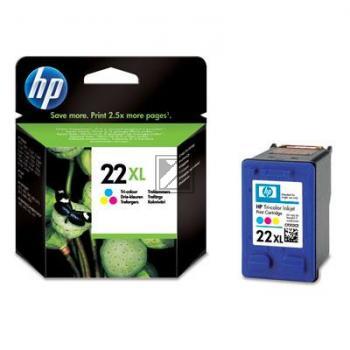 HP Tintendruckkopf cyan/gelb/magenta HC (C9352CE#UUS, 22XL)