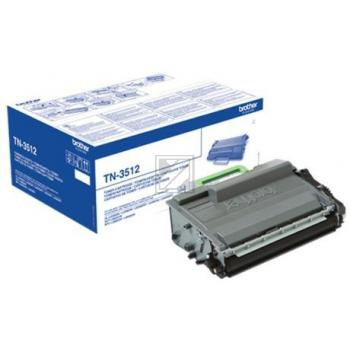 Brother Toner-Kit schwarz HC plus (TN-3512)