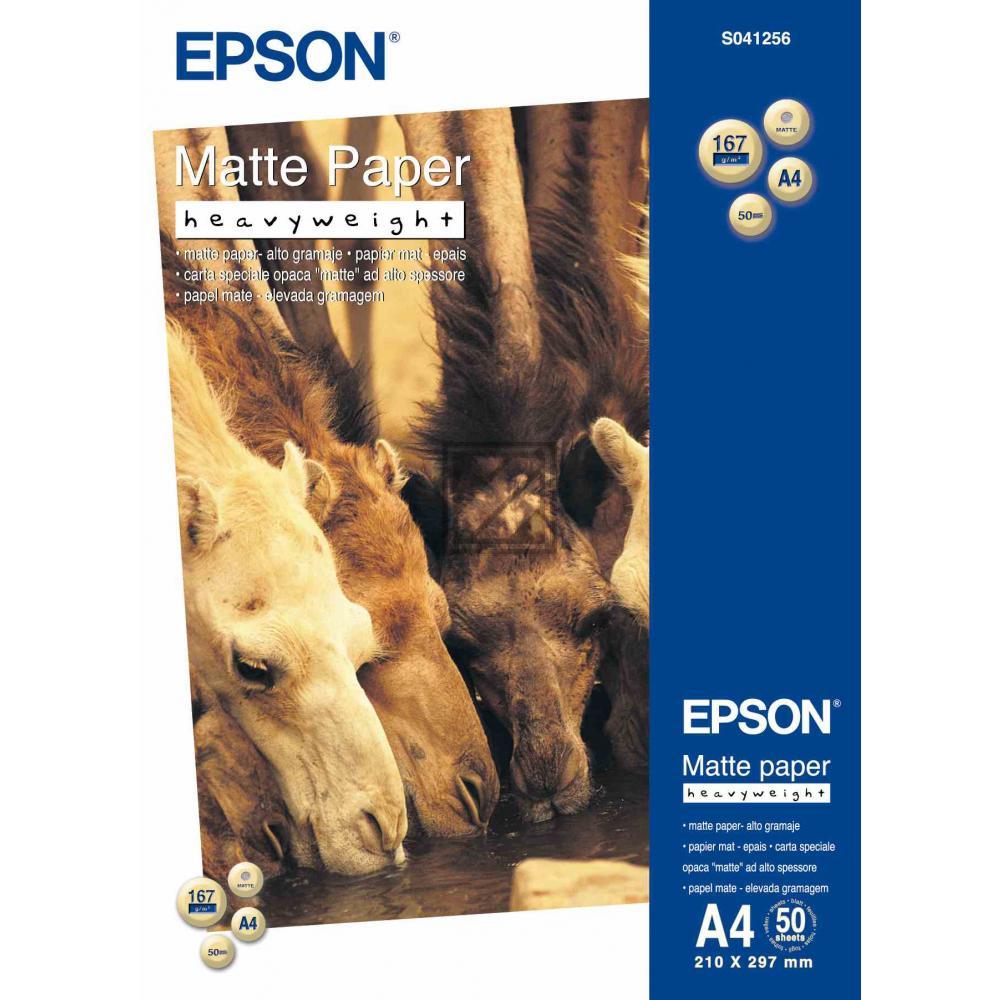Epson Matte Paper Heavy Weight weiß 50 Seiten (C13S041256)