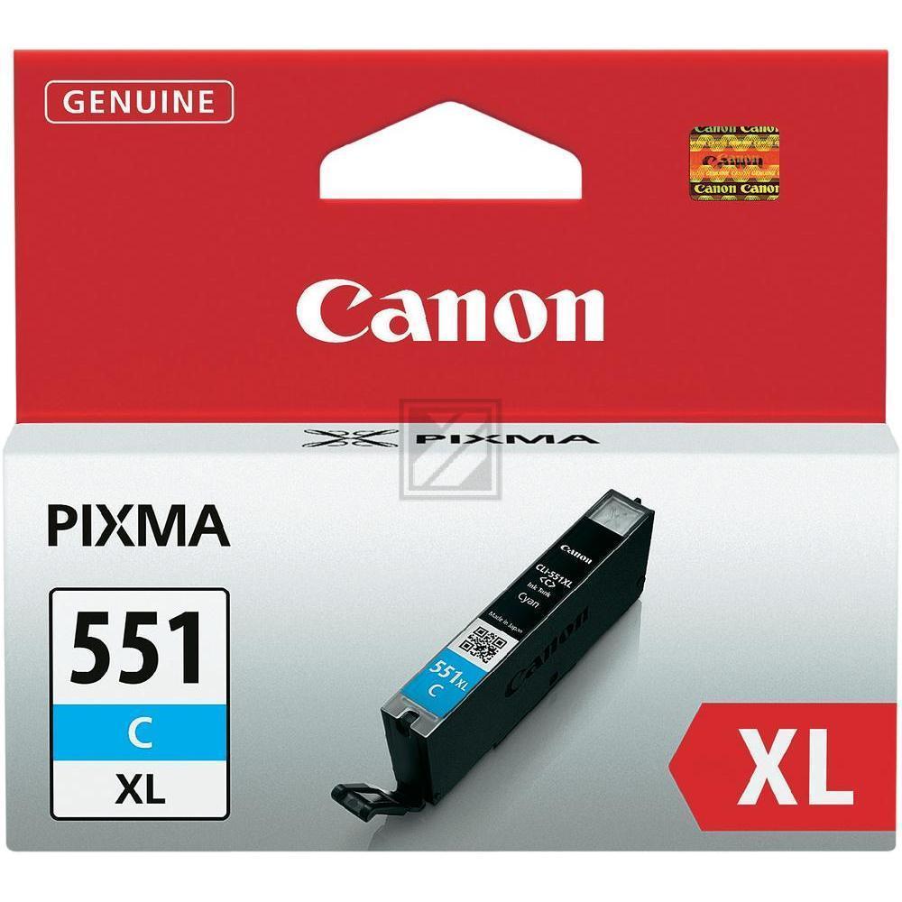 Canon Tintenpatrone cyan HC (6444B001, CLI-551CXL)