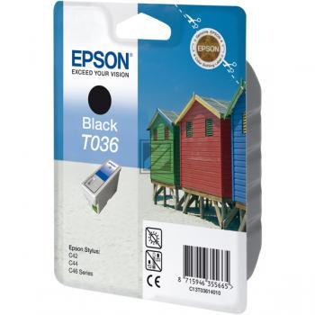 Epson Ink-Cartridge black (C13T03614010, T0361)