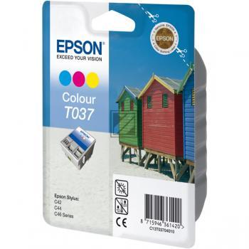 Epson Ink-Cartridge cyan/yellow/magenta (C13T03704010, T0370)