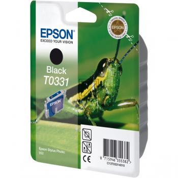 Epson Ink-Cartridge black (C13T03314010, T0331)