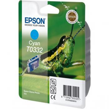 Epson Ink-Cartridge cyan (C13T03324010, T0332)