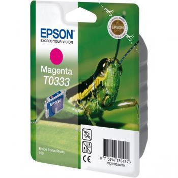 Epson Ink-Cartridge magenta (C13T03334010, T0333)
