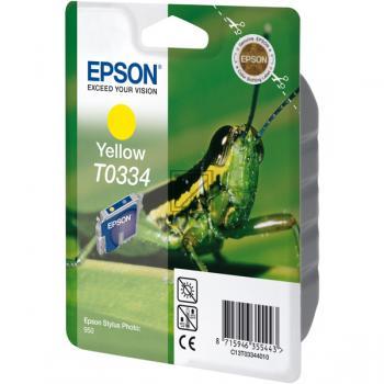 Epson Ink-Cartridge yellow (C13T03344010, T0334)