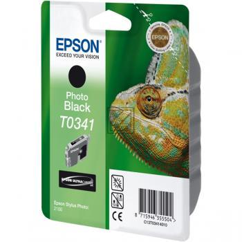 Epson Tintenpatrone schwarz (C13T03414010, T0341)