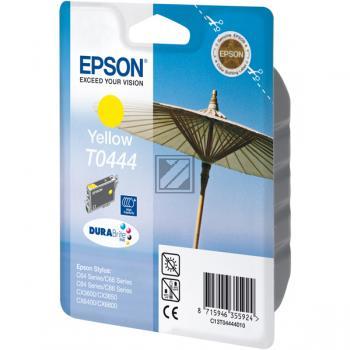 TINTENPATRONE - OEM Epson Stylus C64 / C66 / C84 / C86 / CX6400 yellow, 450 Seiten