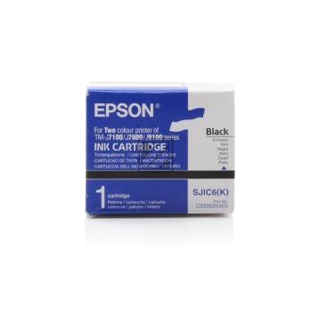 Epson Tintenpatrone schwarz (C33S020403, SJIC6(K))