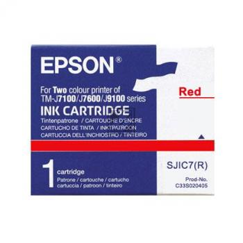 Epson Tintenpatrone rot (C33S020405, SJIC7(R))