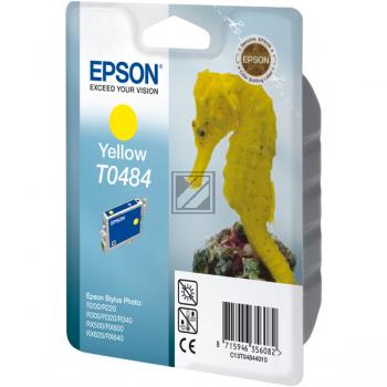 Epson Tintenpatrone gelb (C13T04844010, T0484)