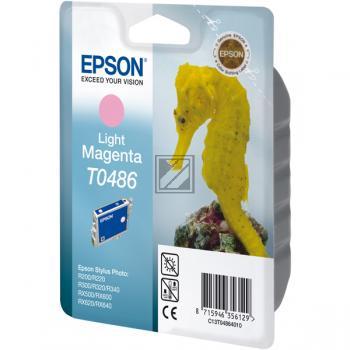 Epson Tintenpatrone magenta light (C13T04864010, T0486)