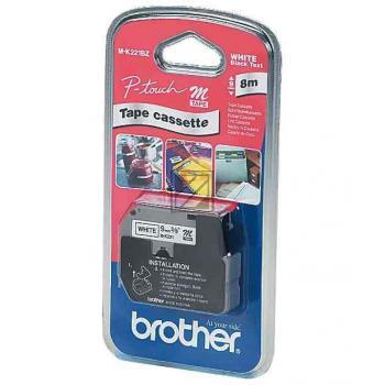 Brother Schriftbandkassette schwarz/gelb (M-K631)