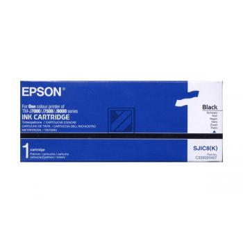 Epson Tintenpatrone schwarz (C13S020407, SJIC8(K))