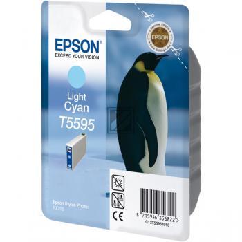 Epson Tintenpatrone cyan light (C13T55954010, T5595)