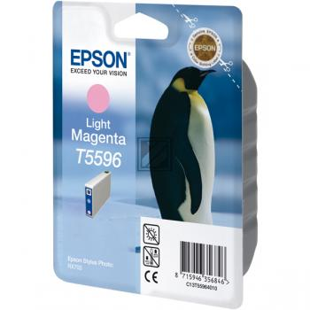 Epson Tintenpatrone magenta light (C13T55964010, T5596)