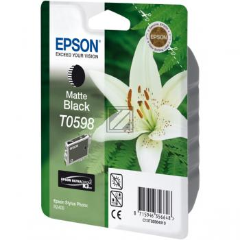 Epson Tintenpatrone schwarz matt (C13T05984010, T0598)