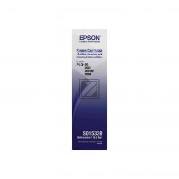 Epson Farbband Nylon 3 x schwarz 3er Pack (C13S015339)