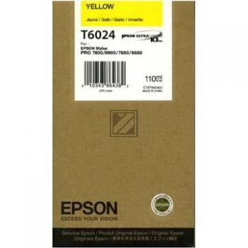 Epson Tintenpatrone Ultra Chrome K3 gelb (C13T602400, T6024)