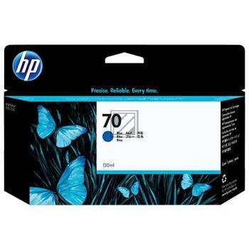 HP Tintenpatrone blau (C9458A, 70)