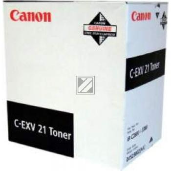Canon Toner-Kit schwarz (0452B002, C-EXV21BK)