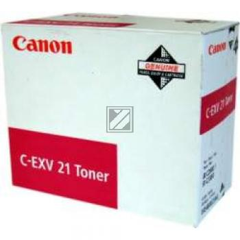 Canon Toner-Kit magenta (0454B002, C-EXV21M)