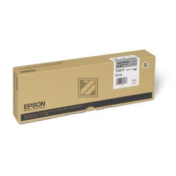 Epson Tintenpatrone Ultra Chrome schwarz light (C13T591700, T5917)