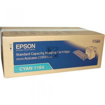 Epson Toner-Kit cyan (C13S051164, 1164)