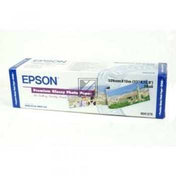 Epson Premium Glossy Photo Paper Roll weiß (C13S041379)