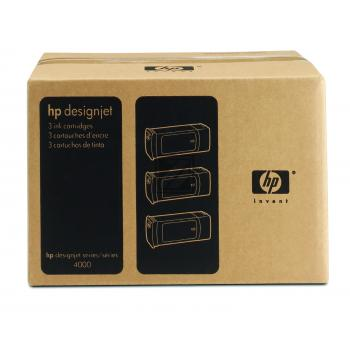 HP Tintenpatrone 3x cyan (C5083A, 3x 90)