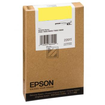Epson Tintenpatrone Photo-Tinte photo schwarz HC (C13T603100, T6031)