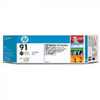 HP Tintenpatrone Photo-Tinte 3x schwarz photo schwarz 3-er Pack (C9481A, 3x 91)