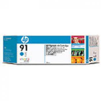 HP Tintenpatrone 3x cyan 3-er Pack (C9483A, 3x 91)